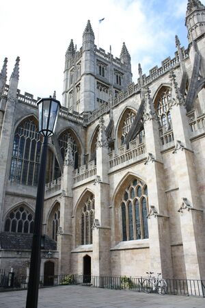abbott: Bath Abbey is Englands last great medieval church, dissolved in 1539 and is now a busy parish church.