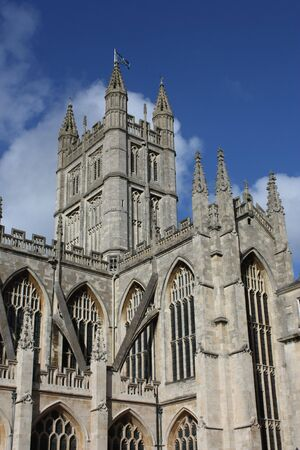 dissolved: Abbazia di Bath in Inghilterra � l'ultima grande chiesa medievale, sciolto nel 1539 ed � ora occupato una chiesa parrocchiale.