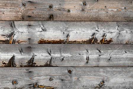 Wooden vintage background. Aged wood is gray. Horizontal. 版權商用圖片