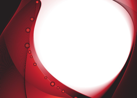 lizenzfrei:  Rote wellenf�rmige dunkelgrundigen. Lizenzfreie freien Vektor-Illustration.