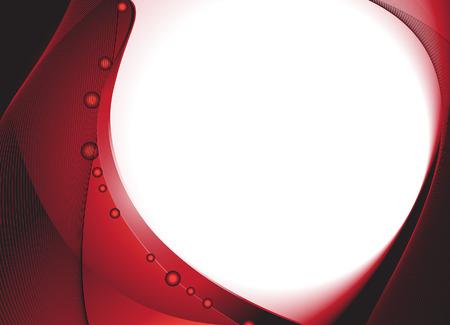royalty free:  Sfondo ondulato rosso scuro. Royalty free stock vector illustration. Vettoriali