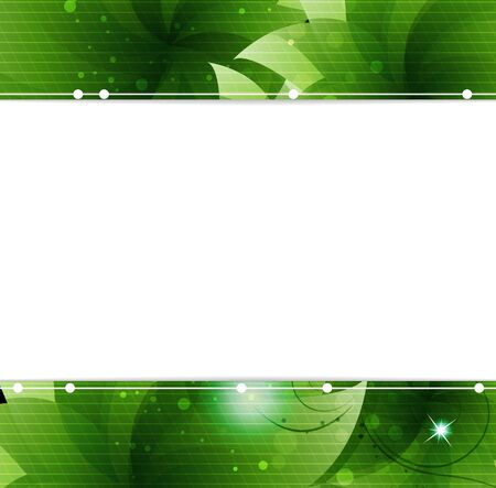 lush foliage: Green Lush foliage  Abstract  frame with place for text