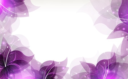 Transparent lilac flowers on a white background with place for text Zdjęcie Seryjne - 20994286