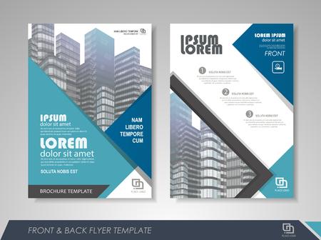 Modern blue Brochure design, Brochure template, Brochures, Brochure layout, Brochure cover, Brochure templates, and more. Stock Vector - 84939357