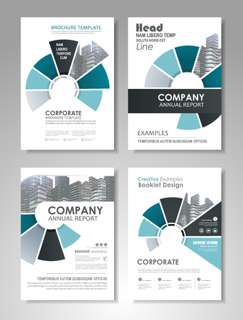 Blue presentation template set for business annual report corporate blue presentation template set for business annual report corporate marketing corporate report creative accmission Gallery