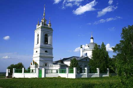 exalt: Belltower and church