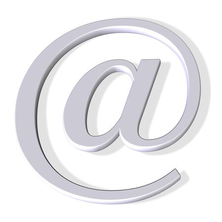 3d email symbol Stock Photo - 534964