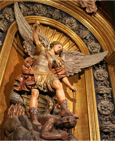 christian religion - saints , angels, and archangels
