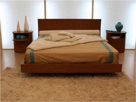Albergo 5 stelle camera da letto per le vacanze - decorazione idee per rendere piacevole la vostra camera da letto Archivio Fotografico
