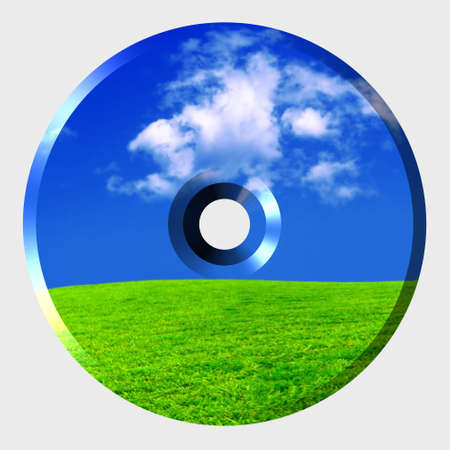 3d cd cover - computer generated clipart photo