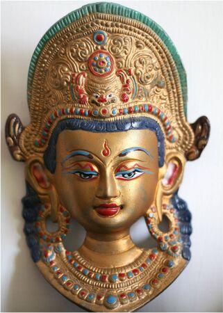 indian deity symbols - object of ancient art Stock Photo