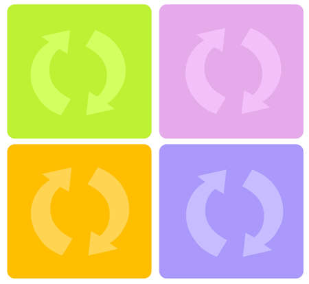 recycle symbol Stock Photo - 860109