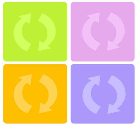 recycle symbol Stock Photo - 860109