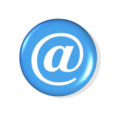 email symbol icon - computer generated illustration Stock Illustration - 860311