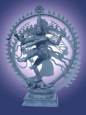 shiva nataraja statue Stock Photo - 860457