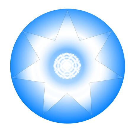 beautiful yantra design - positive energy - meditation photo