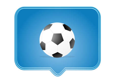 footbal: icon, button, illustration - web page design symbols and signs