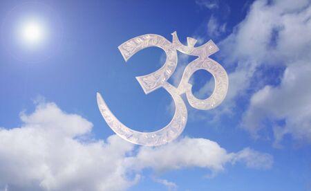 3d aum symbol photo