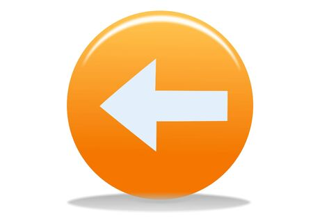 orange phone web icon - web design buttons Stock Photo - 4302628