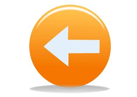 orange phone web icon - web design buttons Stock Photo - 4302628