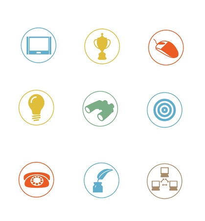 High Quality Icon Sets - modern, professionally designed  photo