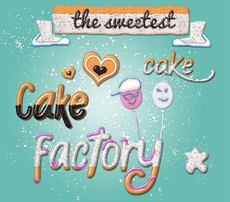 cotillons: D�licieux G�teau Sweet Candy - Cadeaux, cotillons, Vacances Banque d'images