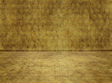 vintage living room: Empty interior Room  Digital background for studio photographers Stock Photo