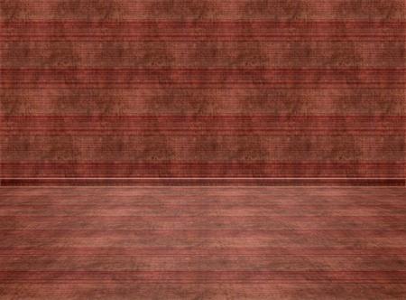 empty room background: Empty interior Room  Digital background for studio photographers Stock Photo