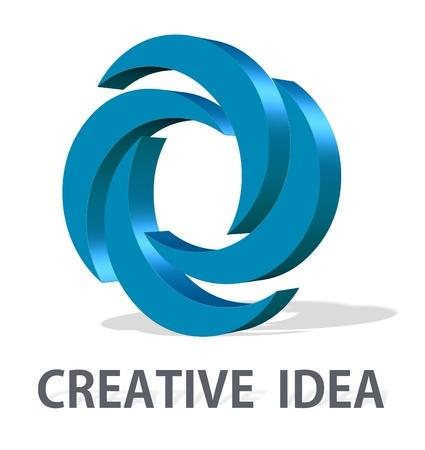 Conceptual element design Stock Photo