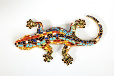 lizzard mosaic