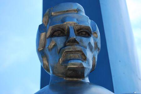 sculpture of a heroe