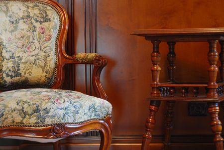 Chair In a Restaurant photo