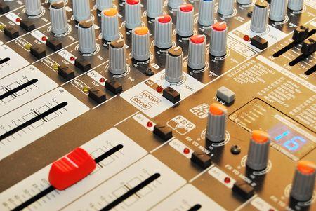 soundboard: soundboard Stock Photo