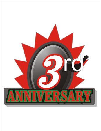 mariage: Third Anniversary