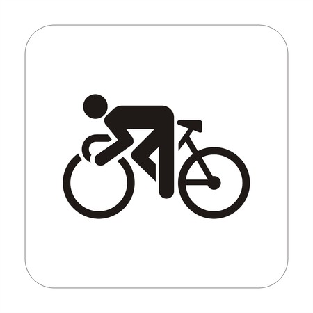 Sport sign - cyclism