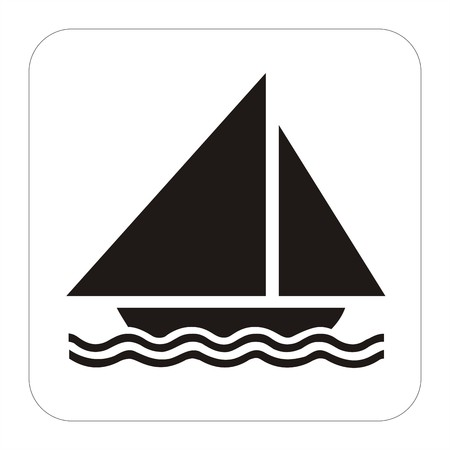 Sport sign- sailing boat photo