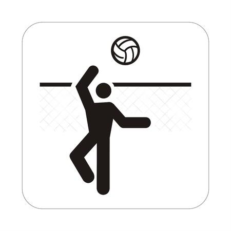 Sports sign - volei photo