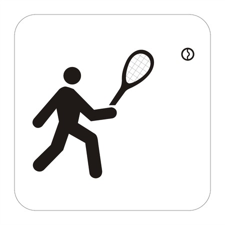 Sports sign - tenis photo