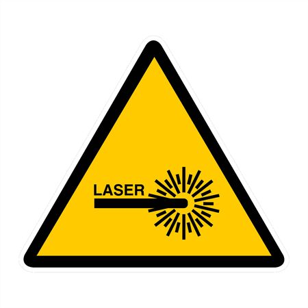 attention signs - laser photo