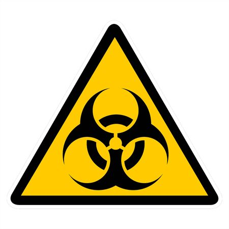 attention signs - biohazard photo