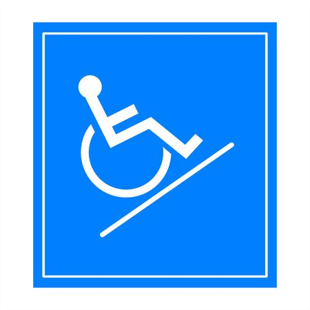 Handicap signs photo
