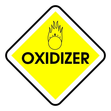 oxidizer: Dander area - oxidizer