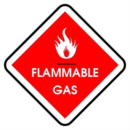 Dander area - gas flammable Stock Photo - 7143915
