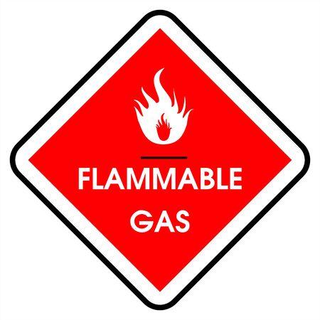 flammable: Dander area - gas flammable