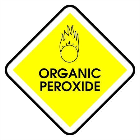 peroxide: Dander area - organic peroxide Stock Photo