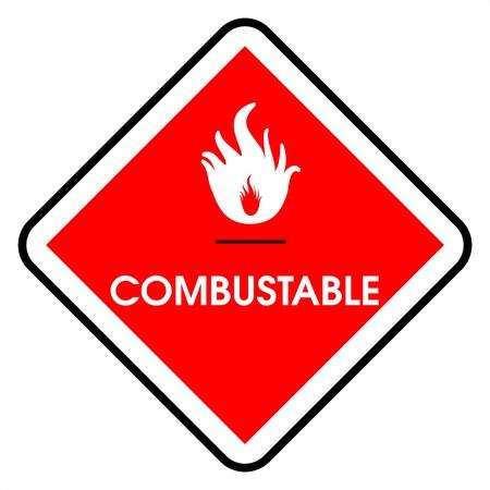 adjusting activity: Dander area - combustable Stock Photo
