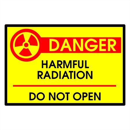 Dander area - harmpful radiation