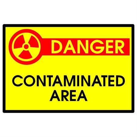 poison sign: Dander area - contaminated