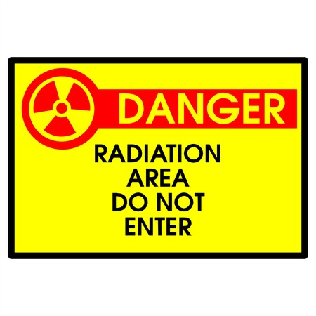 Dander area - radiation Stock Photo