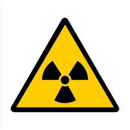 Attentin sign- radiation Stock Photo - 7143922